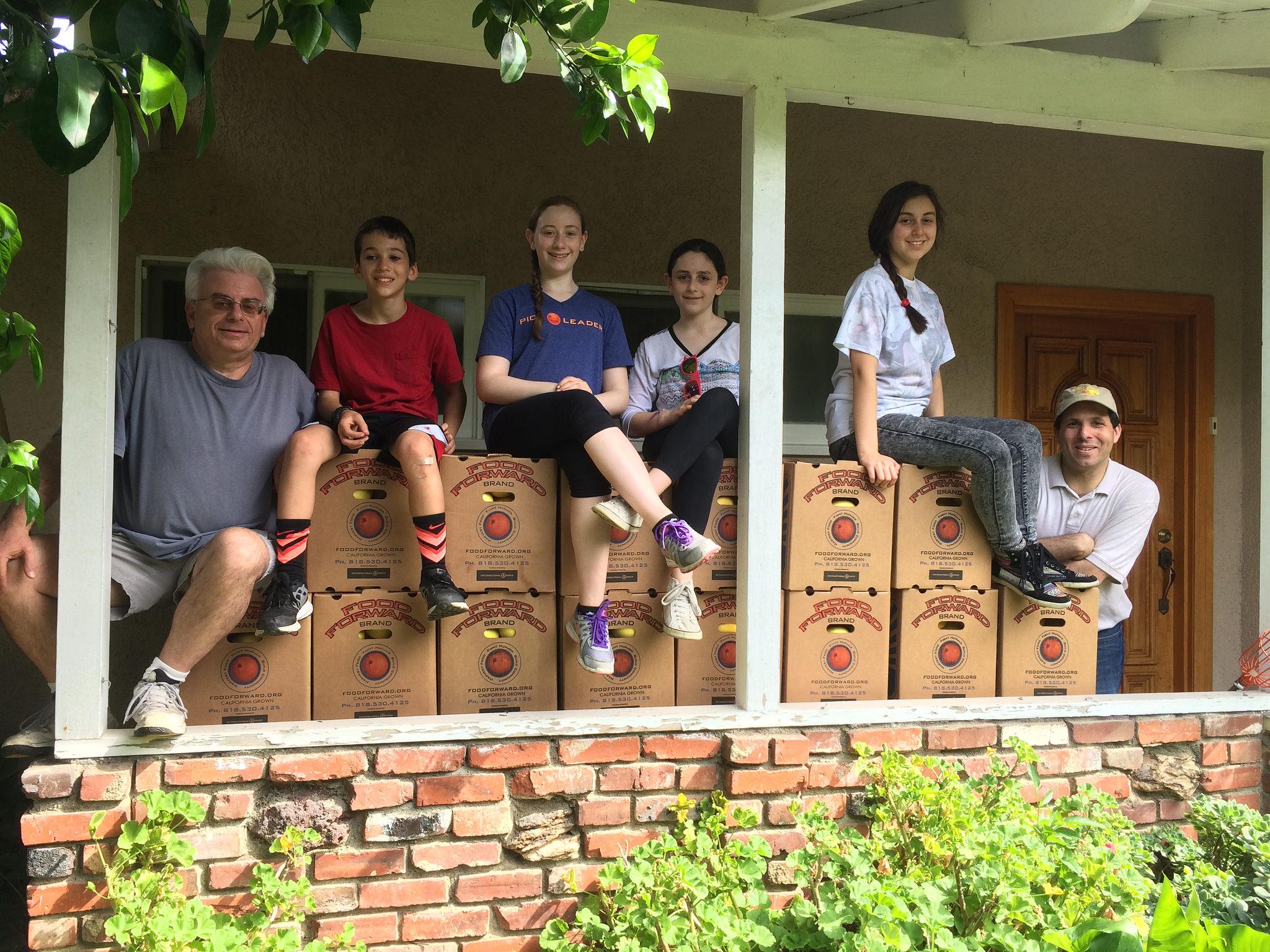 Mitzvah Volunteer Project