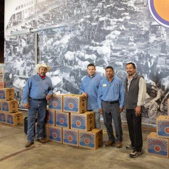 Food Forward Staff at the warehouse