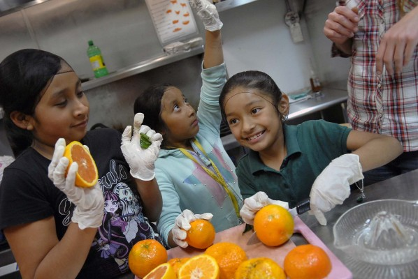 VISIT WITH JR. CHEF PROGRAM AT A PLACE CALLED HOME 4-14-15