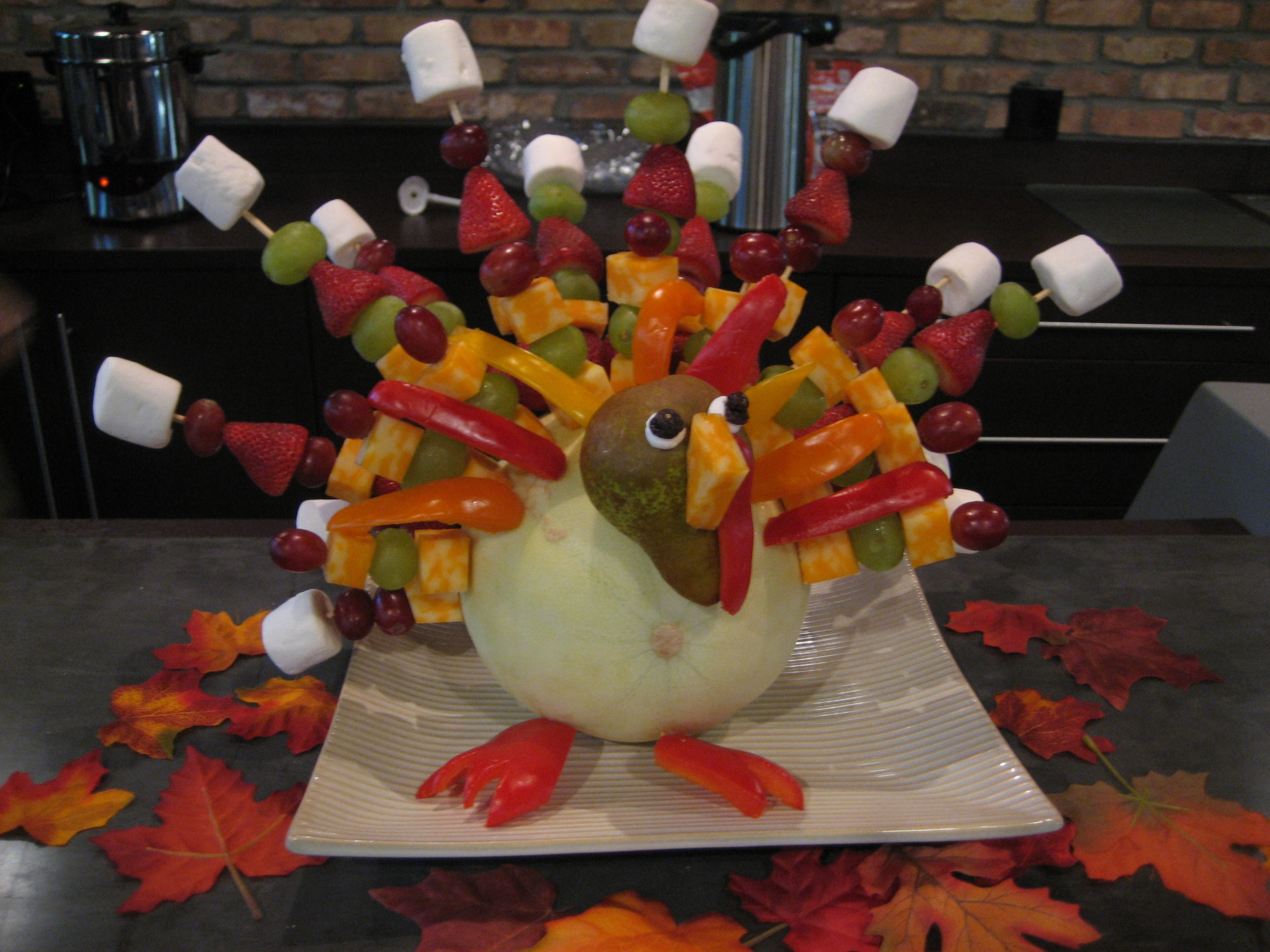 Fruit and Vegetable Turkey - Happy Home Fairy