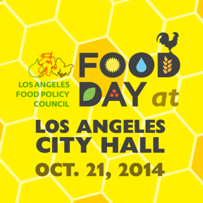 Food Day event flyer