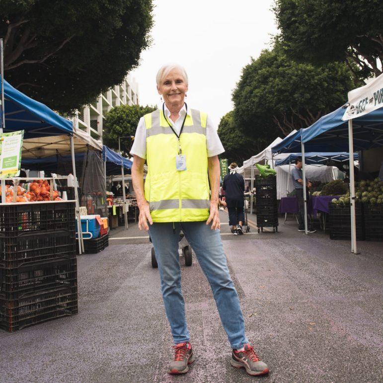 Laura Avery of the Santa Monica Farmers Market