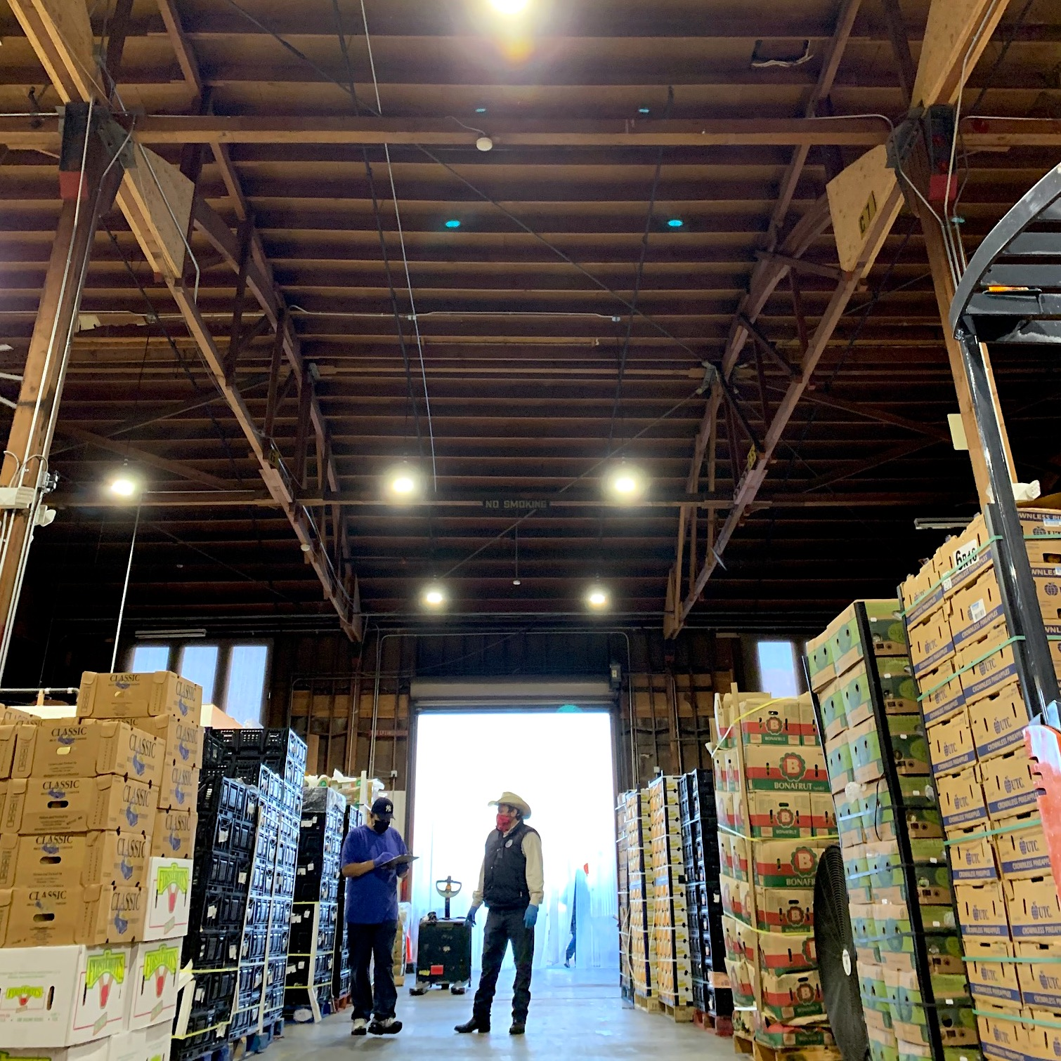 food forward's produce pit stop warehouse